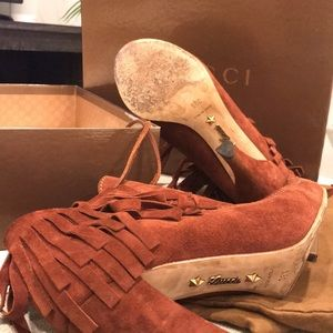 Gucci Shoes - Authentic Gucci Booties
